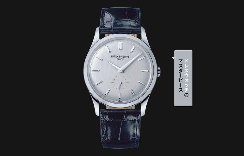 腕時計とは、かくあるべし!/1932年に登場したカラトラバは、カラトラバ騎士団から名称を引用。立体感のある植字インデックスとシャープなドーフィン針が、シンプルさのなかに知的な雰囲気を醸します。手巻き、18KWGケース(37㎜)、アリゲーターストラップ/パテック フィリップ(パテック フィリップ ジャパン・インフォメーションセンター)