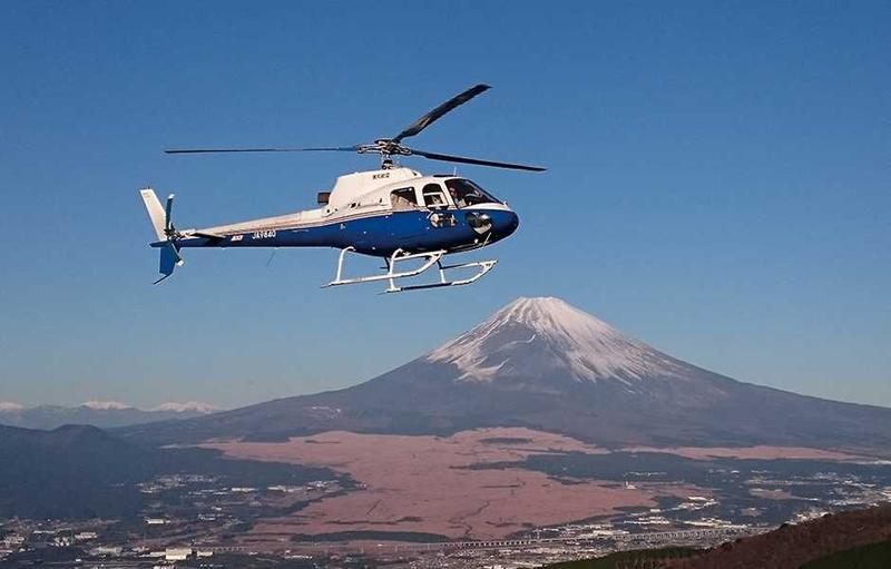 天気の良い日は富士山がよ〜く見えます。