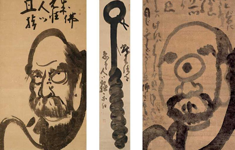 """江戸期の禅僧・白隠の禅画と墨蹟を専門に展示する「荘厳堂」。民衆の布教のために描かれた品々は易しく""""仏の教え""""を伝えてくれます。"""