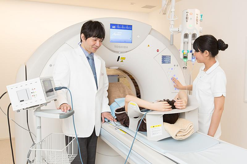 東京国際クリニック CTスキャン装置