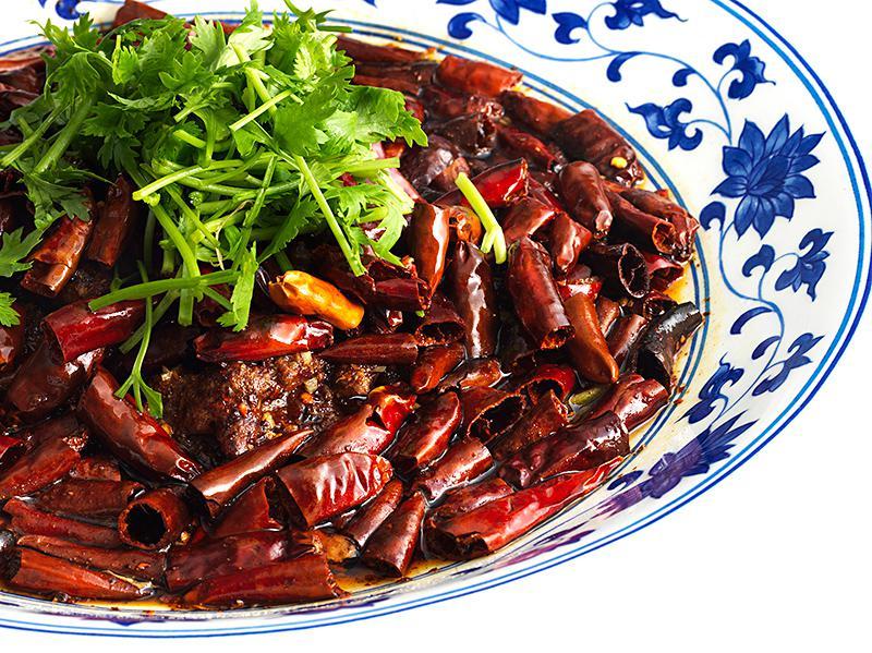 四川香菜 牛肉の激辛煮