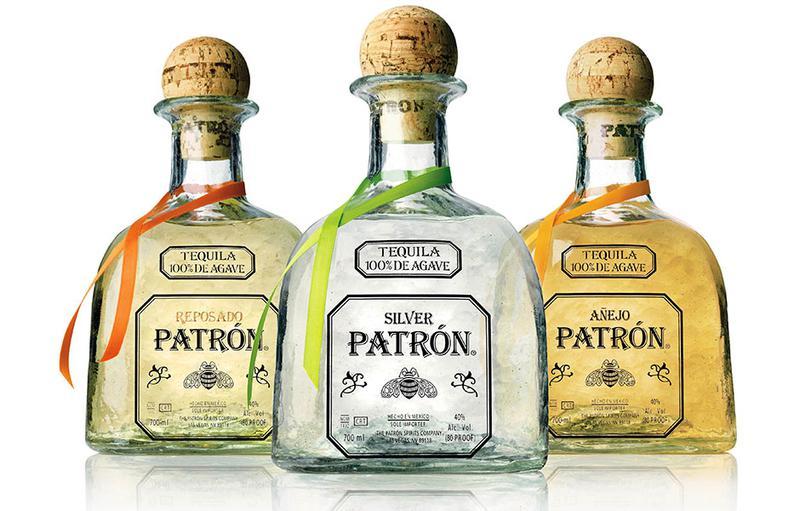 テキーラの代表格である「パトロン」