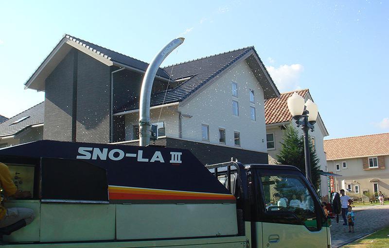 SNO-LA III 降雪マシン搭載トラック