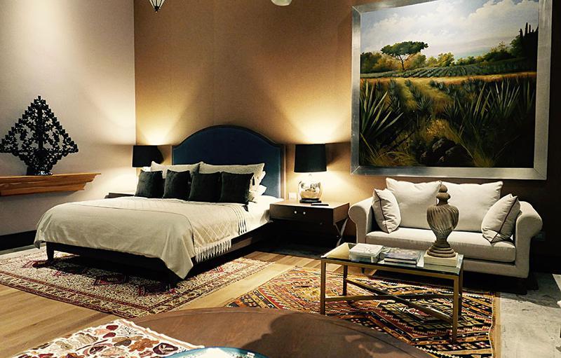 ホテル「La Casona(ラ カソーナ)」寝室