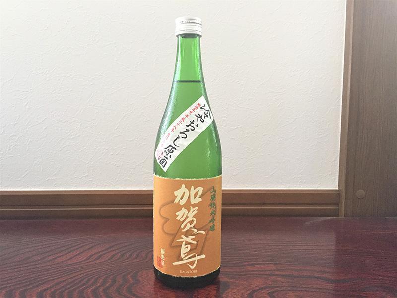 山廃純米吟醸 加賀鳶 冷やおろし原酒