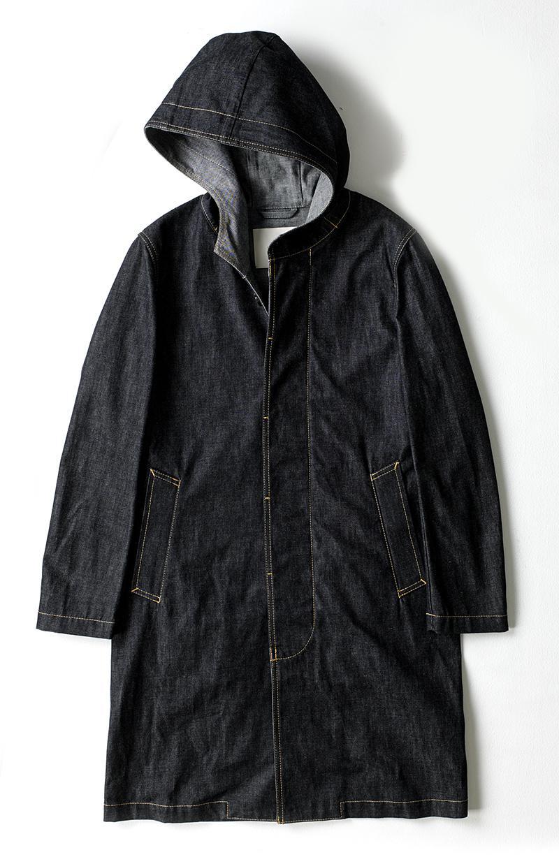 フード付きのコート/マッキントッシュ