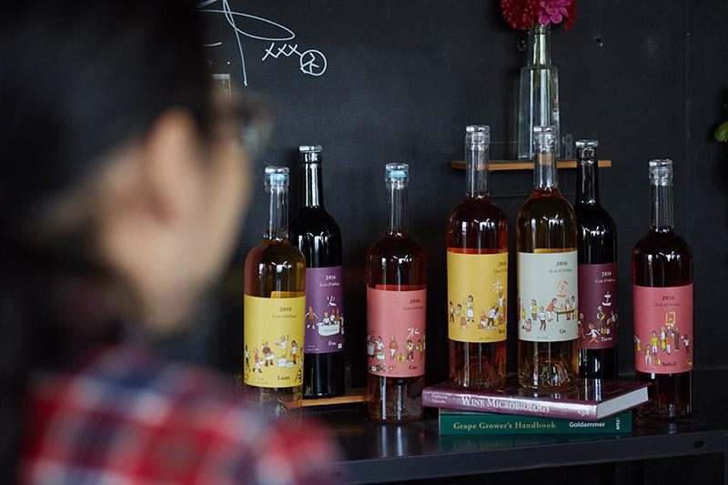 「Cfa Backyard Winery足利学校」第二期生が造った7種のワイン