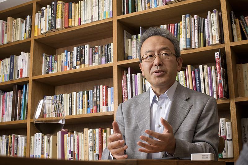 「日本ワインを愛する会」副会長の遠藤誠さん