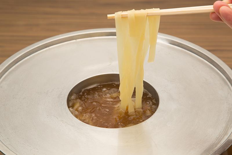 杵打ちきし麺