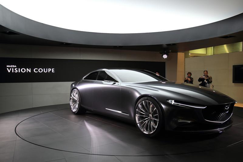 マツダの次世代デザインの方向性を形にしたコンセプトモデル「マツダ VISION クーペ」
