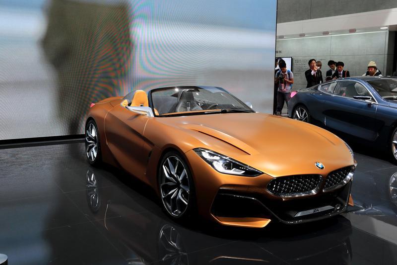 次期型BMW「Z4」のデザインスタディであるコンセプトモデル「コンセプトZ4」