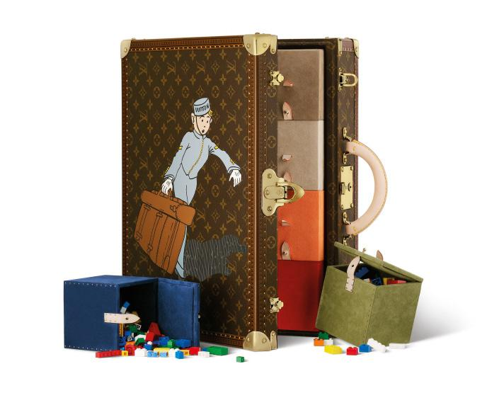 おもちゃ用コトヴィル モノグラム・キャンバス50×37×15 個人蔵