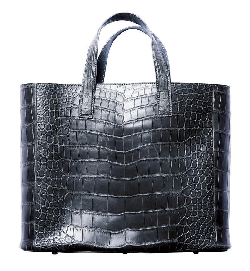 クロコダイル トートバッグ/山本製鞄