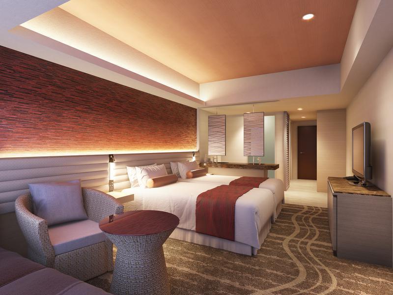 東京ベイ東急ホテル 客室(デラックス・茜)のイメージ
