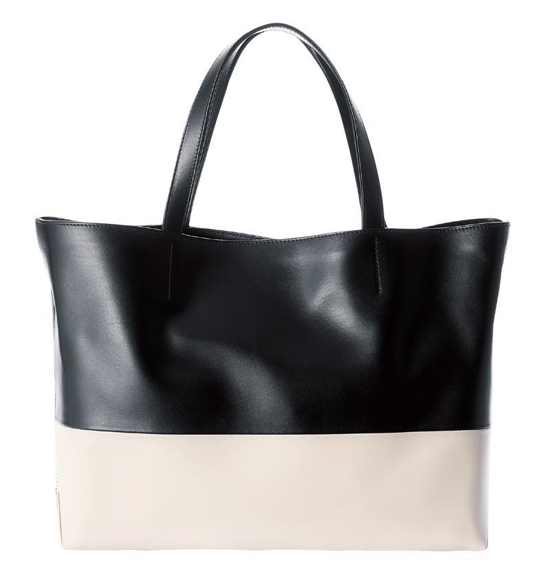 白×黒トートバッグ/ステファノマーノ(ヤマニ)