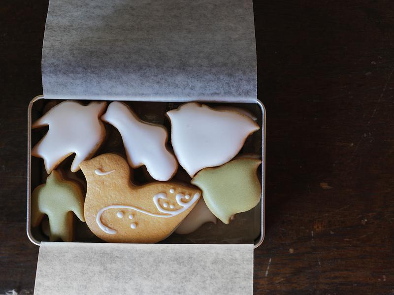 菓子工房ルスルス/「鳥のかたちクッキー」1500円(税別)