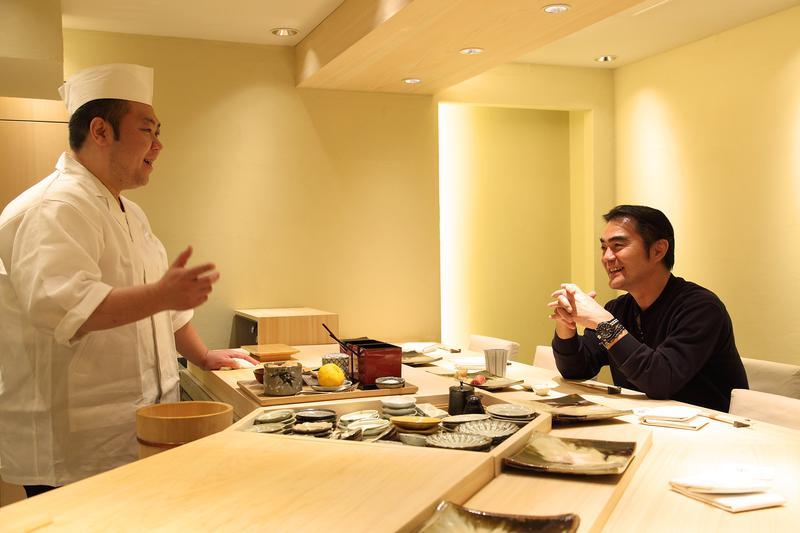 鮨まつもと/日本酒のラインナップにも定評あり、工夫が凝らされた酒肴に杯がすすむ、すすむ…