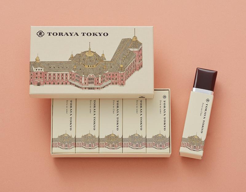 東京ステーションホテル「TORAYA TOKYO」 / 小形羊羹「夜の梅」