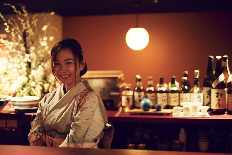 和ノ酒bar 粋月/酒造見学も行うなど、日々おいしい日本酒を探求する大西玲奈さん。