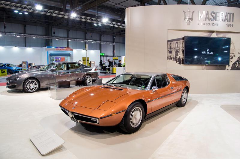 マセラティ初のミドシップスポーツカー「ボーラ」