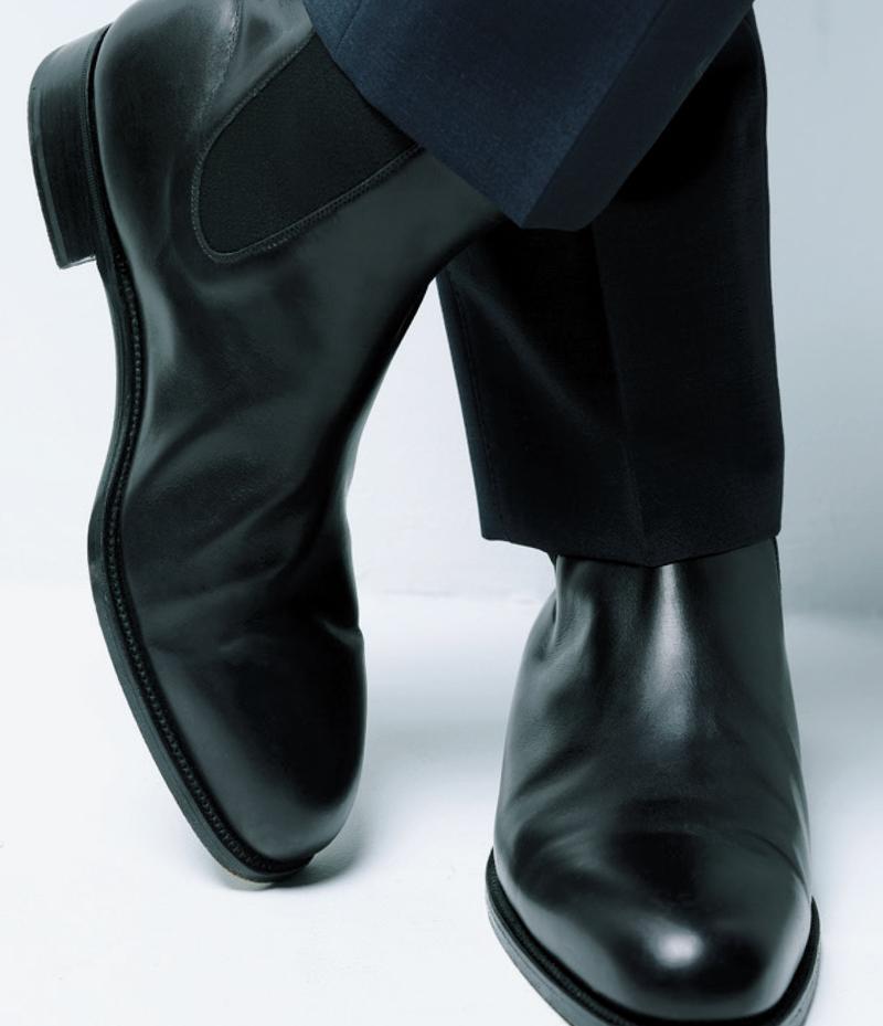 靴13万5000円/ジェイエムウエストン(ジェイエムウエストン 青山店)