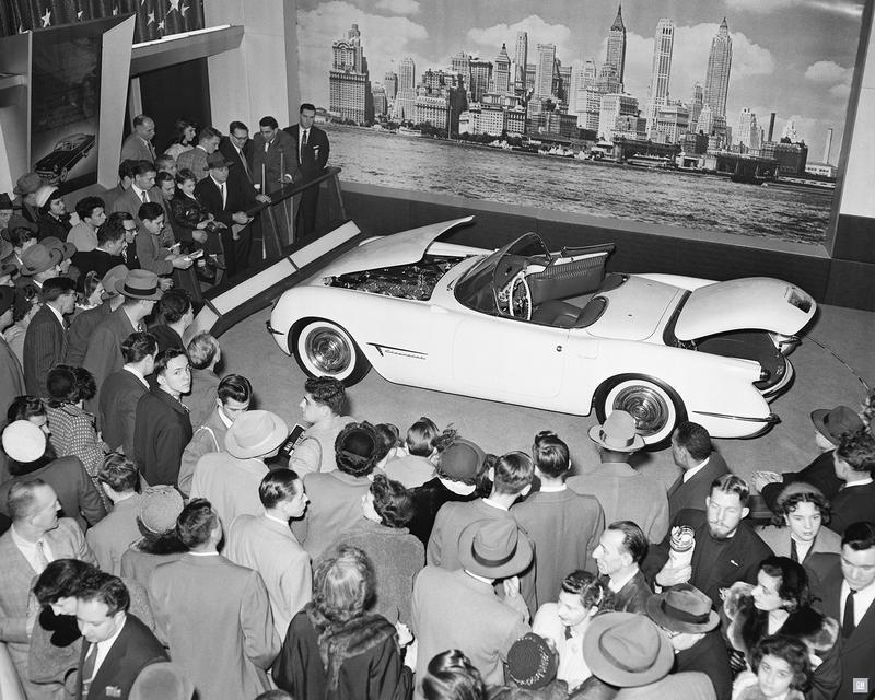 1953年の「モトラマショー」