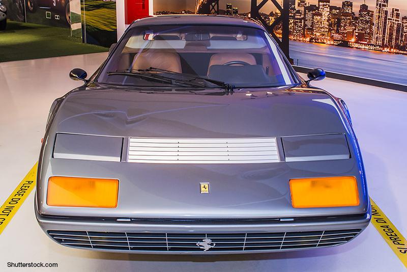 ピニンファリーナの代表作の一つ、フェラーリ「365GT4BB」。日本におけるスーパーカーブームの中心的存在だった