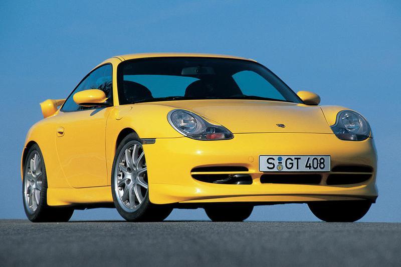 水冷エンジン化された初の911として1997年にデビューした996型。GT3は1999年に登場した
