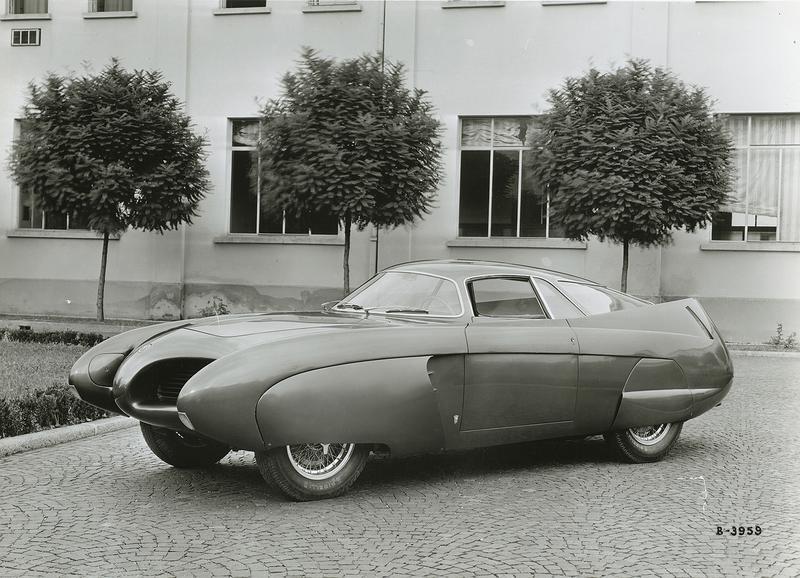 ベルトーネが手がけたアルファロメオの空力実験車「BAT5」