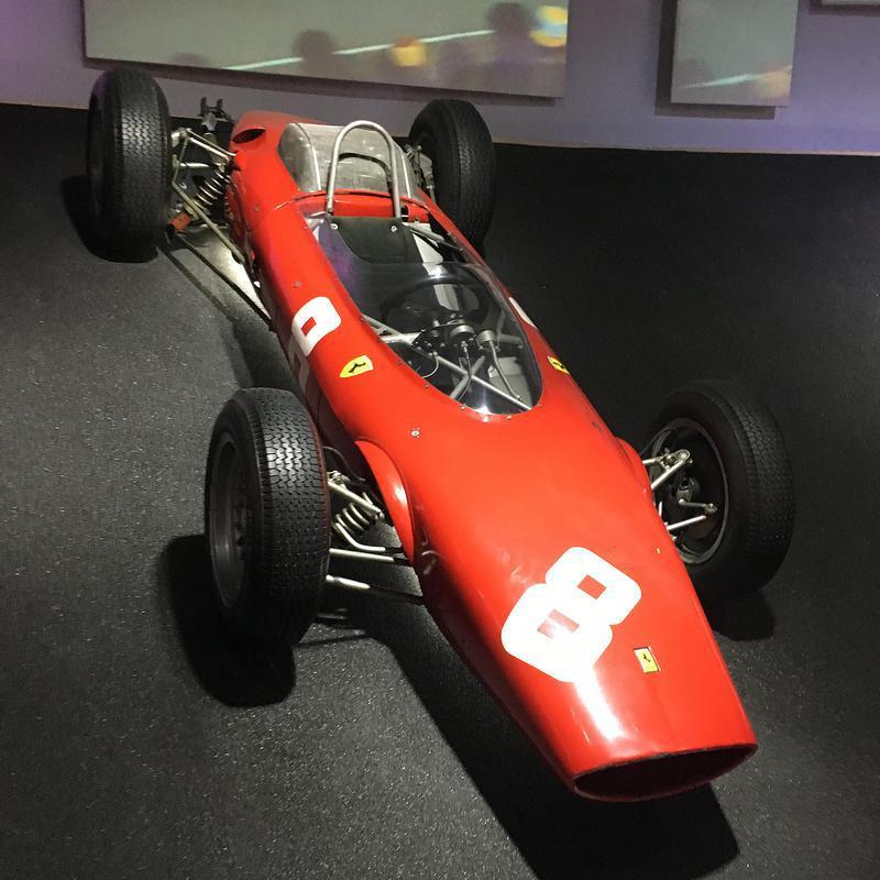 1961年にデビューしたフェラーリ初のミドシップF1マシン「156 F1」