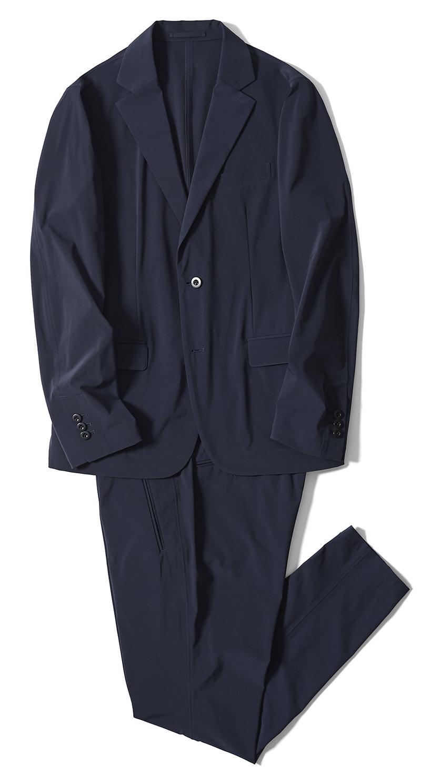 ジャケット4万9000円、パンツ2万7000円/ともにデザインワークス(デザインワークス ドゥ・コート銀座店)