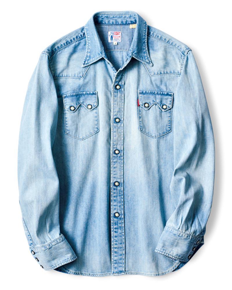 ウエスタンシャツ2万6000円/リーバイス® ビンテージ クロージング(リーバイ・ストラウス ジャパン)