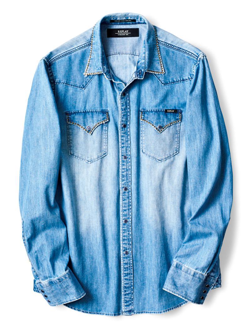 ウエスタンシャツ2万4000円/リプレイ(ファッションボックスジャパン)