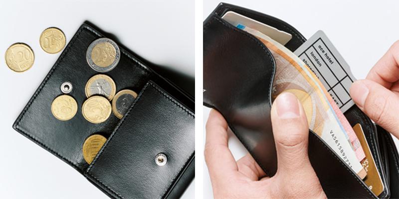 財布[W11.5×H8.5×D3㎝]4万5000円/サンローラン バイ アンソニー・ヴァカレロ(イヴ・サンローラン)