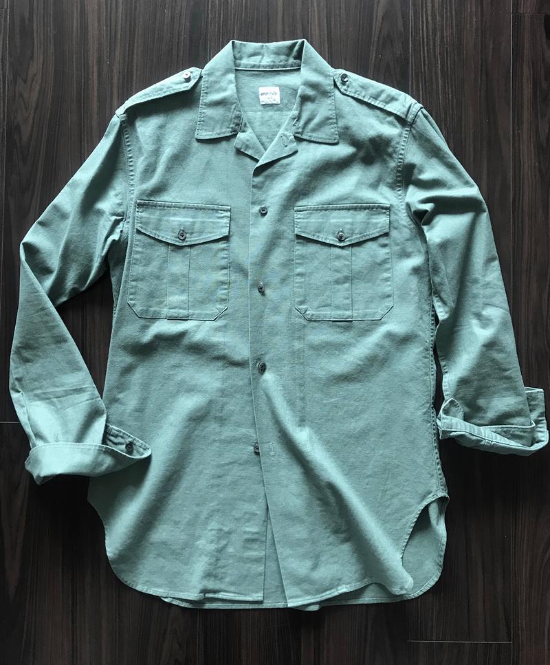 マイティマックのミリタリーシャツ