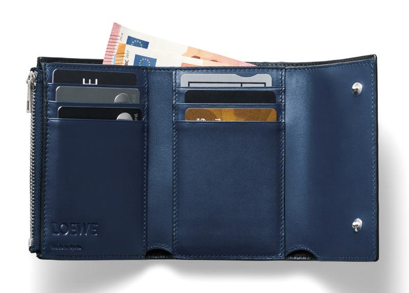 財布[W12×H8×D2.5㎝]6万円/ロエベ(ロエベ ジャパン カスタマーサービス)