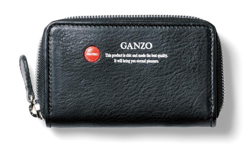 [W11.5×H7×D2.5㎝]財布1万8000円/ガンゾ(アジオカ)
