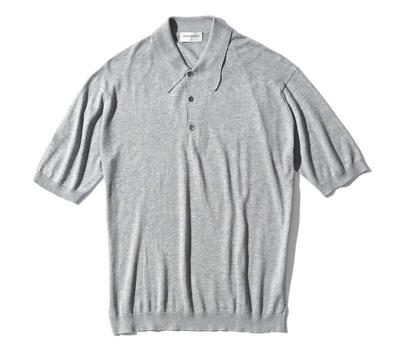 ポロシャツ2万6000円/ジョン スメドレー(リーミルズ エージェンシー)