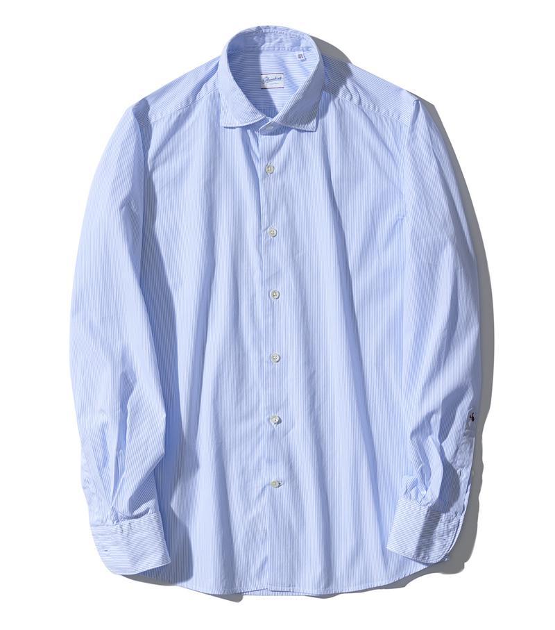 シャツ2万1000円/グランシャツ(ザ スローウエア ストア 東京ミッドタウン店)
