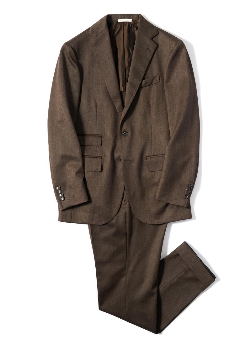 スーツ15万4000円/デ ペトリロ(ビームス ハウス 丸の内)
