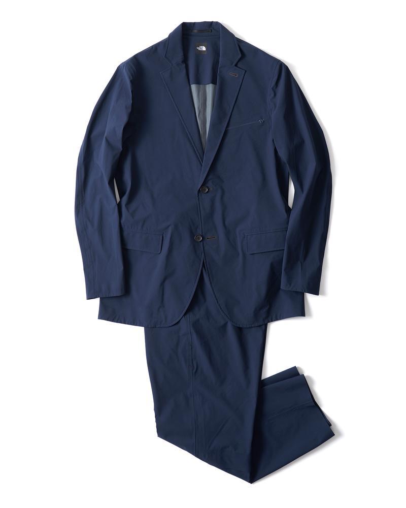 セットアップスーツ ジャケット3万5000円、パンツ2万2000円/ともにザ・ノース・フェイ(ザ・ノース・フェイス スタンダード)