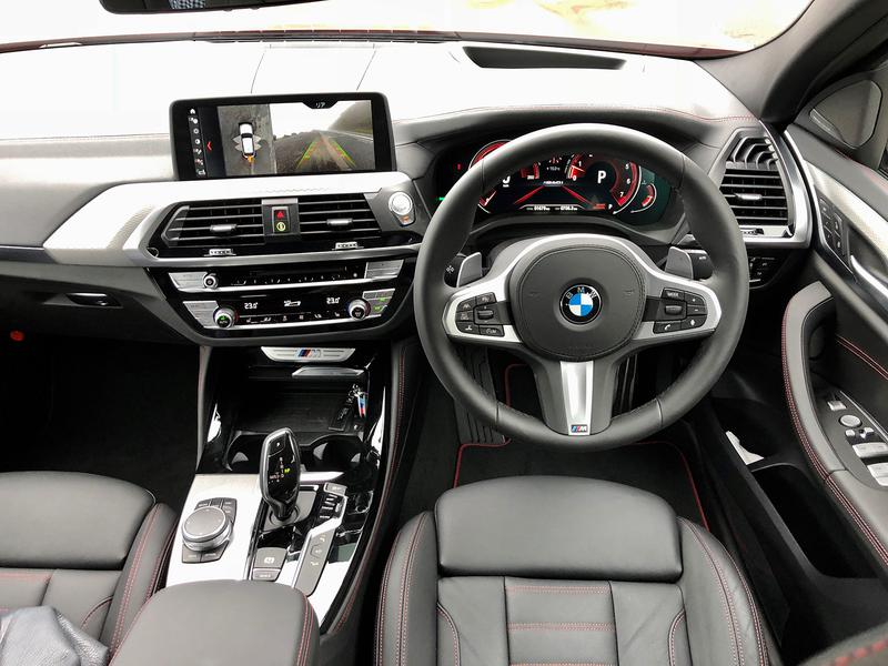 BMW X4 M40i インテリア