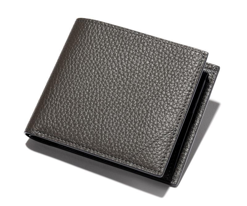 グレーブルー二つ折りウォレット12万円/カミーユ・フォルネ(カミーユ フォルネ銀座ブティック)